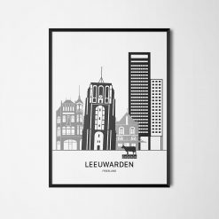 Aanzichtkaart Leeuwarden
