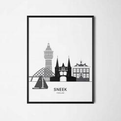 Aanzichtkaart Sneek
