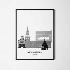 Aanzichtkaart Appingedam