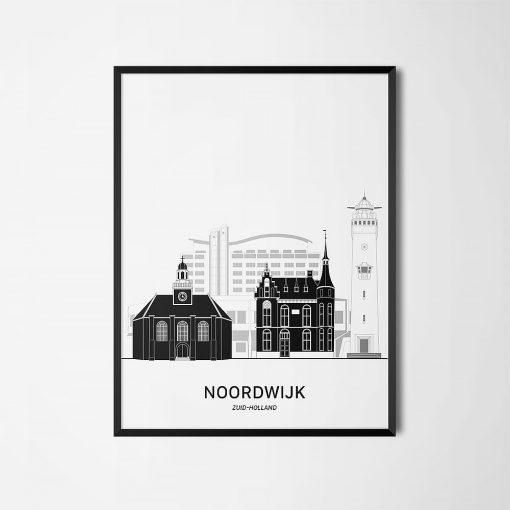 Aanzichtkaart Noordwijk